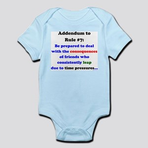 Rule 7 Addendum Infant Bodysuit