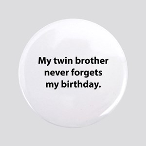 Happy Birthday Twins Wallposters Large Buttons Cafepress