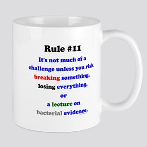Break, Lose, Evidence Lecture Mug