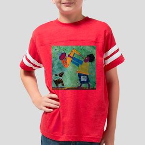 DogandSax10in46 - DSC_6242 Youth Football Shirt