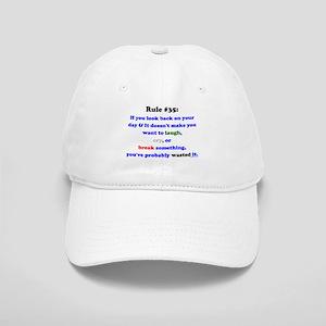 Rule 35 Laugh, Cry, Break Something Cap