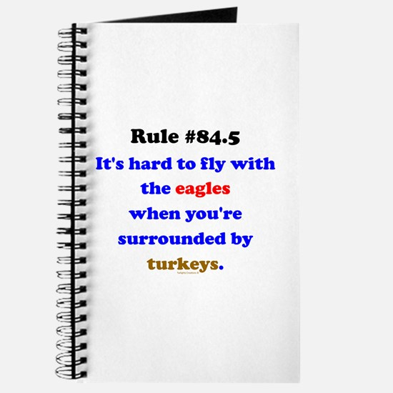 Rule 84.5 Surrounded by Turkeys Journal