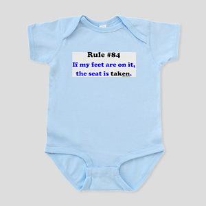 Rule 84- Seat Taken Infant Bodysuit