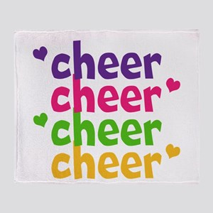 Cheerlicious Throw Blanket