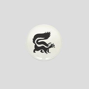 Skunk Mini Button