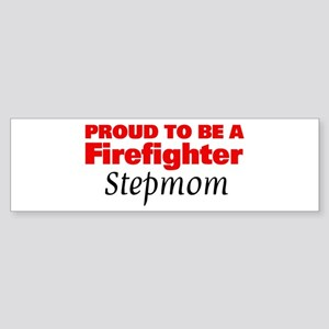 Firefighter: I Love My Firefighte Sticker (Bumper)