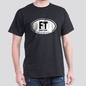Car Oval Funky Town T-Shirt