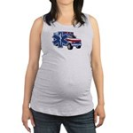 EMS Ambulance Maternity Tank Top