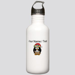 Custom Hawaiian Christmas Penguin Sports Water Bot
