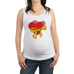 Love Hearts Maternity Tank Top