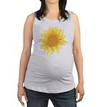 Sunflower Elegant Maternity Tank Top