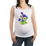 Flowers of Spring Maternity Tank Top