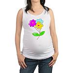 cute bouquet Maternity Tank Top