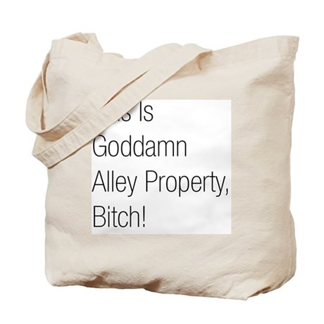 Alley Property #2 Tote Bag