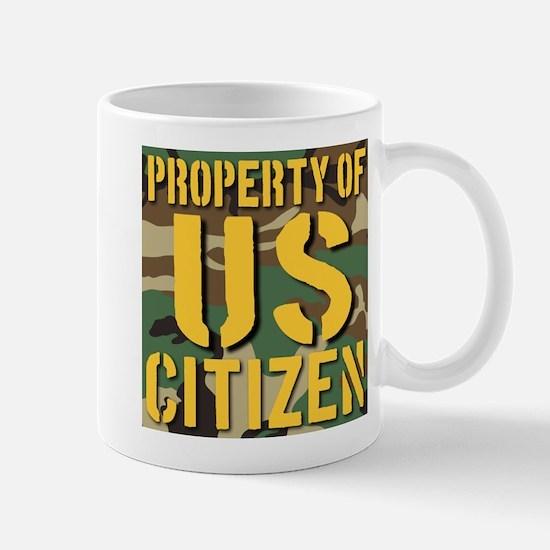 Property of US Citizen Mug