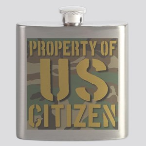 Property of US Citizen Flask