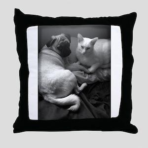 Orbit and Stella Throw Pillow