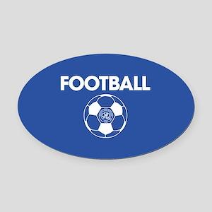 Queens Park Rangers Football Oval Car Magnet