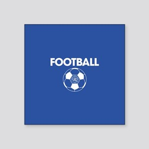 "Queens Park Rangers Footbal Square Sticker 3"" x 3"""