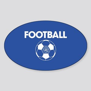 Queens Park Rangers Football Sticker (Oval)