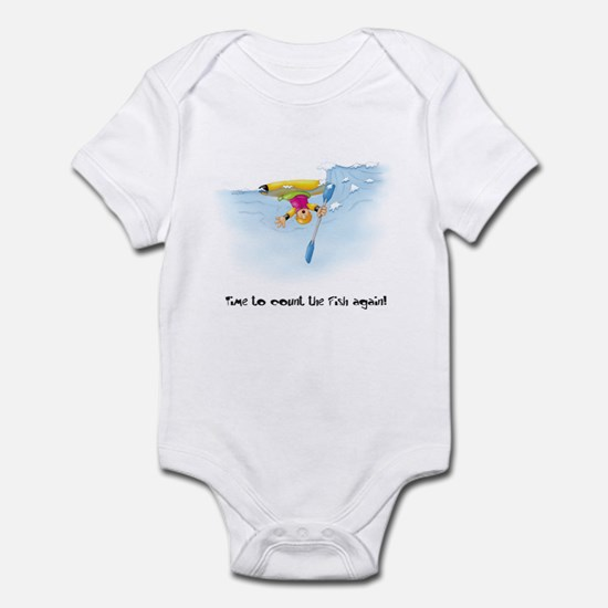 Kayak Capers 12 Infant Bodysuit