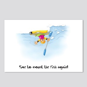 Kayak Capers 12 Postcards (Package of 8)