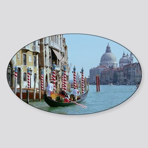 The Grande Canal in Italy Venice Sticker (Oval)