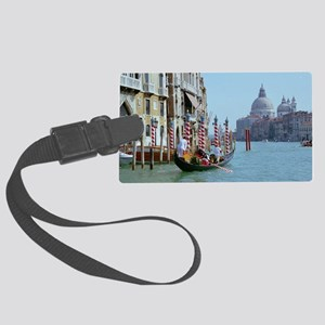 The Grande Canal in Italy Venice Large Luggage Tag