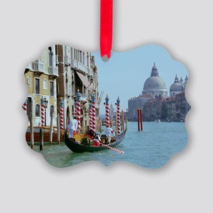 The Grande Canal in Italy Venice Picture Ornament