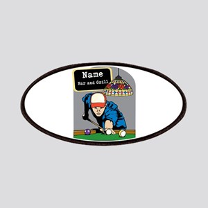 Personalized Mens Billiards Patches
