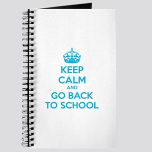 Keep calm and go back to school Journal