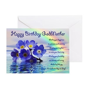 Godmother Birthday Greeting Cards