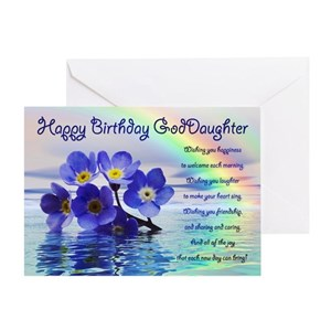 Goddaughter Greeting Cards