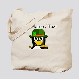 Custom Irish Penguin Tote Bag