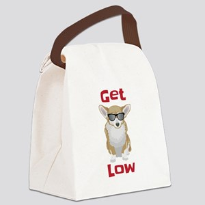 Get Low with Corgis Canvas Lunch Bag