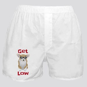 Get Low with Corgis Boxer Shorts