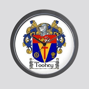 Toohey Coat of Arms Wall Clock