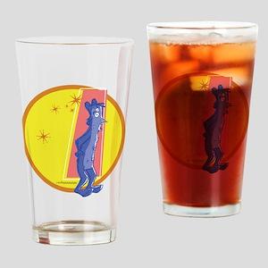 Berry Bear Drinking Glass
