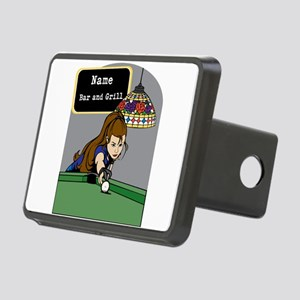 Personalized Womens Billiards Rectangular Hitch Co