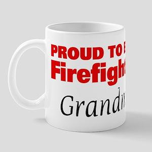 Proud Grandma: Firefighter Mug