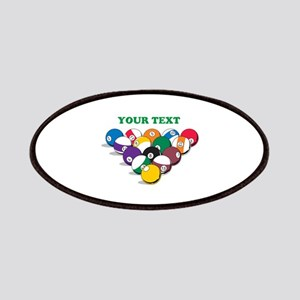 Personalized Billiard Balls Patches