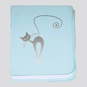 Stella Cat 9 baby blanket