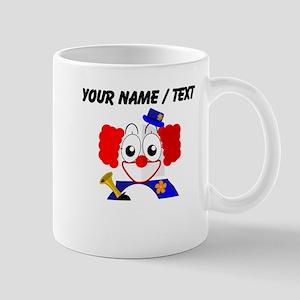 Custom Clown Penguin Small Mug