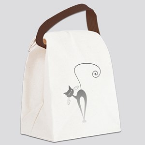 Stella Cat 9 Canvas Lunch Bag