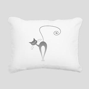 Stella Cat 9 Rectangular Canvas Pillow