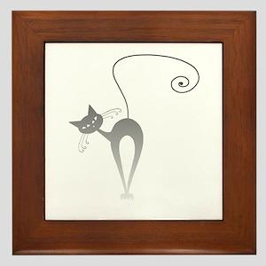 Stella Cat 9 Framed Tile