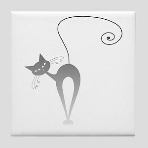 Stella Cat 9 Tile Coaster