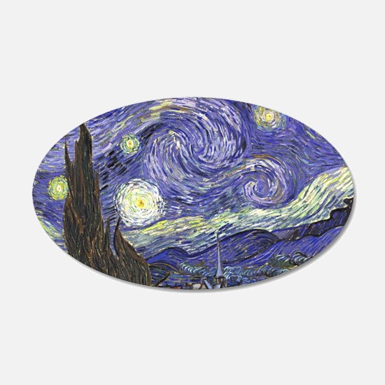 Starry Night by Vincent van Wall Decal