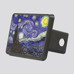 Starry Night by Vincent va Rectangular Hitch Cover