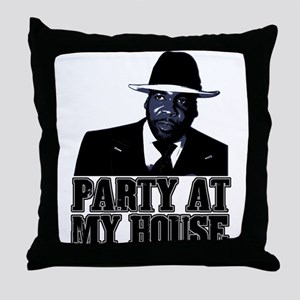 Kwame - Party At My House! Throw Pillow